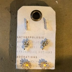 Earring set of three! From Anthropologie